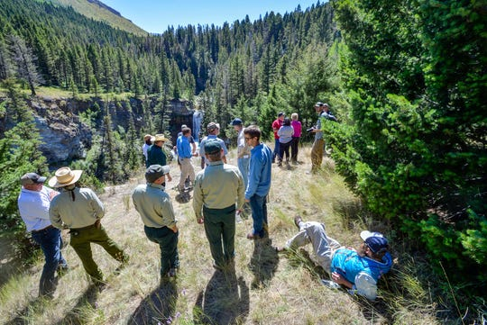 The public now has access to Falls Creek southwest of Augusta thanks to a land deal involving rancher Dan Barrett, the Rocky Mountain Elk Foundation and the Helena-Lewis and Clark National Forest.