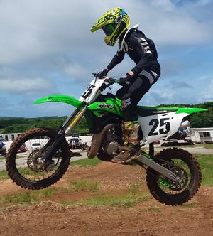 Lawrence Limtiaco clinched the 85cc class championship Aug. 25 in Round 5 of the 2019 Monster Energy Guam Motocross Championships at the Guam International Raceway in Yigo.