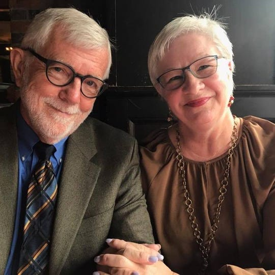 Kidney donor Denny Behm and his wife, Kaylene Behm