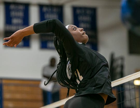 Raven Colvin, a junior at Heritage Christian, had a chance to be the next big thing in high school track. Now, she's chasing volleyball dreams.