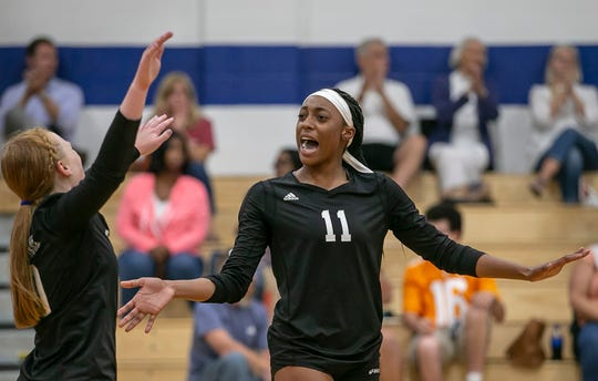 Raven Colvin was named the National Christian School Athletic Association National Volleyball Player of the Year in August.