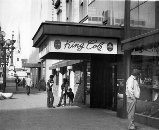 The King Cole Restaurant at 7 N. Meridian St. was a Downtown institution since it opened its doors in 1957. The Comisar family restaurant closed it in 1994. The departure of major Downtown department stores hurt the business. Shoppers no longer had a reason to shop downtown and have lunch.