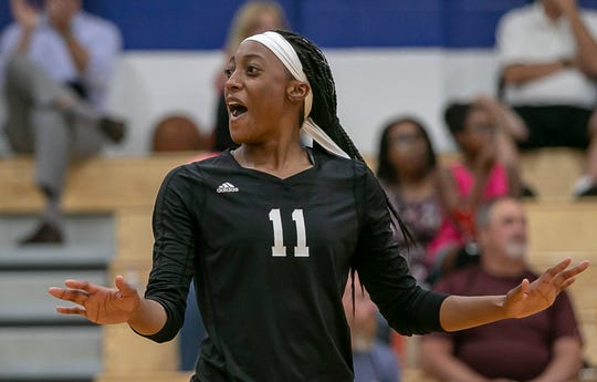 """Raven's club volleyball coach Travis Fuller says she is """"the most dynamic middle blocker in the state of Indiana."""""""