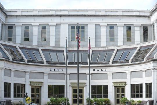 The Jackson City Hall in Jackson, Tenn.