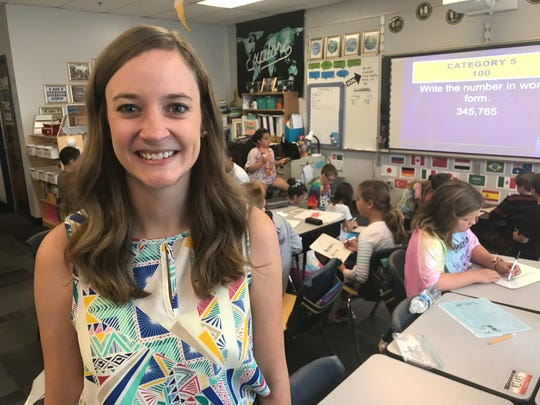 Lauri Vitale, a fifth-grade teacher at Klondike Elementary in Tippecanoe School Corp., is one of 10 finalists for the 2020 Indiana Teacher of the Year.