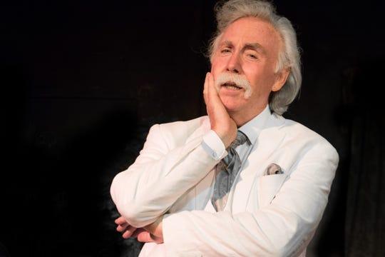 Mark Twain impersonator Richard Garey will visit Lafayette Sept. 10.