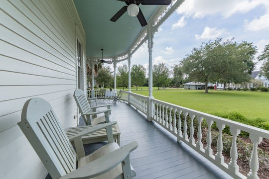 This 168-year-old historic Abbeville mansion has a wrap around porch, an Oak Tree on the National Historic Registry and a claw foot tub in the master bath. The home is on the market for $725,000.