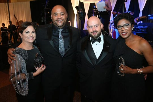 Spirit of Hope Honorees, Beth Marino Resweber, Johnathan Williams, Dr. Kelly Cahill, Jr., Dr. Dee Garrett