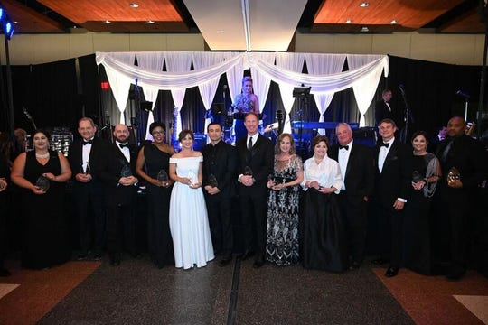 Spirit of Hope Honorees, Claire Broussard, Scott Cavitt, Dr. Kelly Cahill, Jr., Dr. Dee Garrett, Fawn Hernandez, Dr. Sal Malad, Billy Mick, Dr. Deborah Johnson, Janie & Danny Deshotels, Rémy Jardell, Beth Marino Resweber, Johnathan Williams