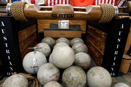 Owners credit Slaters Hardware's willingness to diversify its product line as one of the reasons they've been able to stay open for decades. One of the areas they've expanded into is a strength department with atlas stone molds, strongman logs and monsterbells.