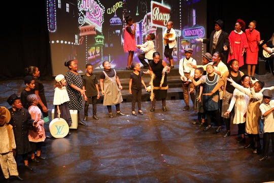 """The Louisville Central Community Center'sTiny Tykes Theater Troupe performs """"Annie Jr."""""""