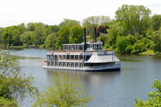Hop aboard this 19th century steam boat for a Michigan fall color tour.