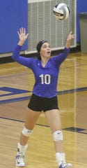 Ontario's Izzy Graaf collected 64 assists in two Lady Warrior volleyball victories last week including 37 in a win over River Valley and 27 in a win over Riverdale.