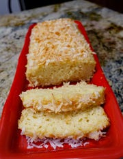 Pina Colada Bread is rich with the flavors of coconut and pineapple (and a bit of rum, if you wish).