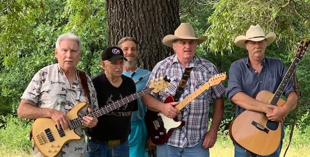 The Seldom Heard Band will perform Saturday night at Yellville's Music on the Square.