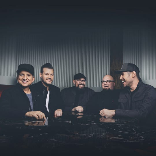 Christian band Big Daddy Weave promotion photo.