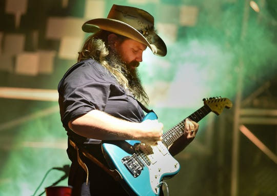 Chris Stapleton is a nominee for Male Vocalist of the Year.