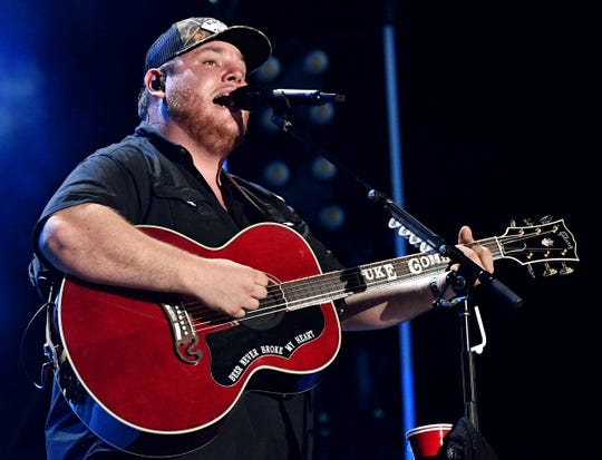 Luke Combs is a nominee for Male Vocalist of the Year.
