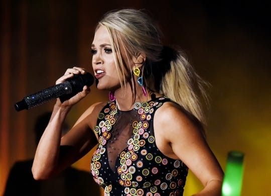 Carrie Underwood is a nominee for Female Vocalist of the Year.