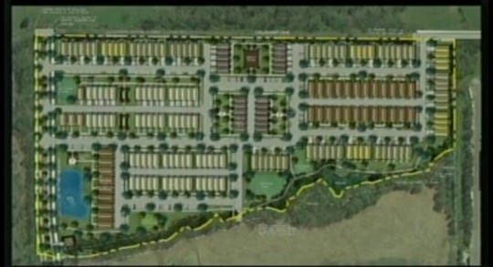 BOMA approved the preliminary master development plan for Anderson Park Tuesday night.