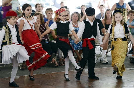 The annual  Greek Festival this weekend is always a family favorite with music, dance and wonderful food at Holy Trinity Greek Orthodox Church.
