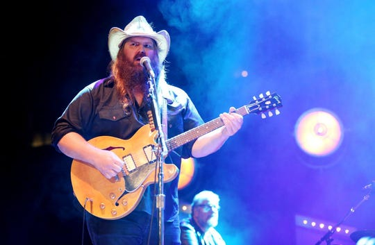"Chris Stapleton is a nominee for Single of the Year for ""Millionaire."""