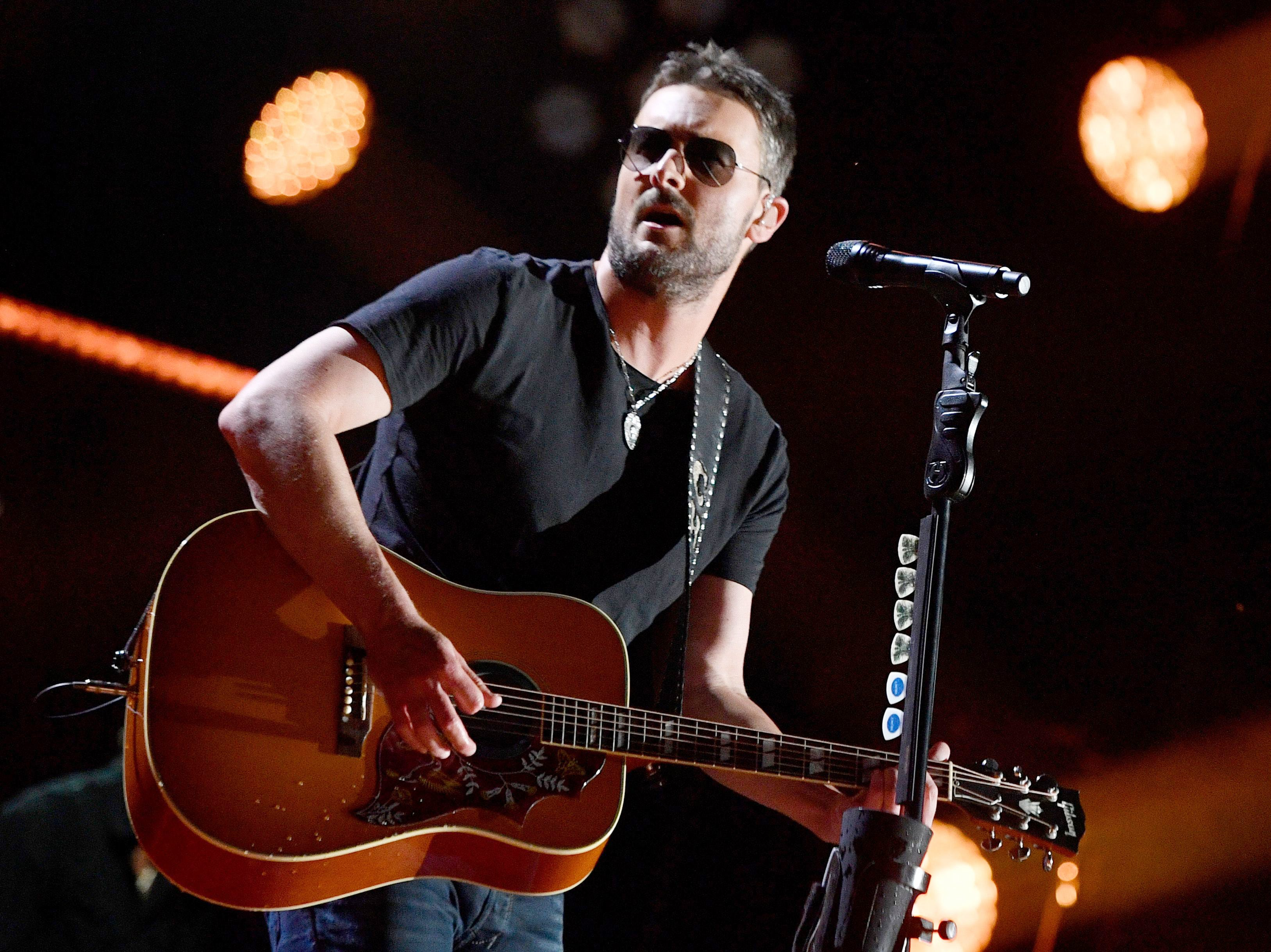 Taylor Swift thanked Eric Church for getting fired from a tour with a gold record