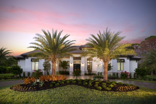 Stock Custom Homes' estate home at 179 Mahogany Drive in Pine Ridge Estates is available for purchase at $3.645 million