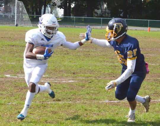 Wallington senior wide receiver Zaheir Mitchell accumulated more than 900 total yards last season and looks for more this fall for the Panthers, who are vying to get back to the state playoffs.