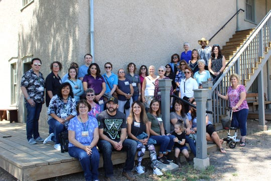 The Lincoln and Torrance County Treasurer's offices hosted the Treasurers Fall Affiliate meeting in Ruidoso, August 19 -23.