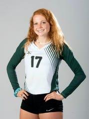 2019 Volleyball Super Senior, Hannah Meyers, Catholic High School.