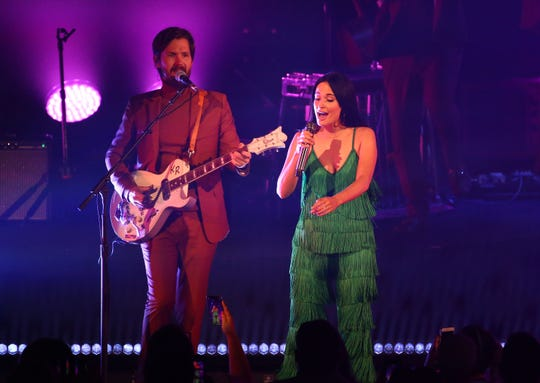 Kacey Musgraves performs her Oh, What a World: Tour II at Comerica Theatre on Aug. 27, 2019 in Phoenix, Ariz.