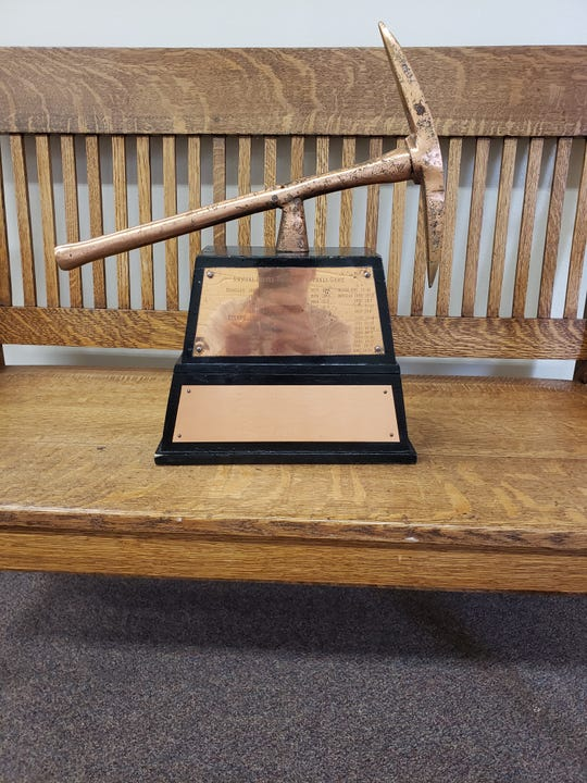 The Copper Pick trophy goes to the winner of the Bisbee-Douglas game.