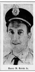 A photo of Harry Baish that ran in the Lebanon Daily News with an article about him receiving an award.
