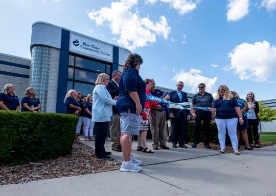 A ribbon cutting ceremony was held Wednesday, Aug. 28, 2019, for the new Blue Water Community Action headquarters in Port Huron Township.
