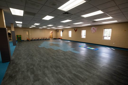 Blue Water Community Action's new headquarters in Port Huron Township has two gyms.