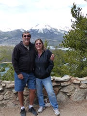 Dave and Faye Malouf are shown in Breckenridge, Colorado during one of their RV trips.