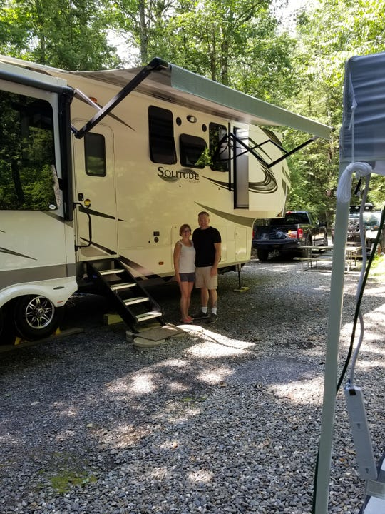 Walt Moran and his wife, Sue, enjoy traveling in their RV. He is the founder of the Facebook page, Hudson Valley RV Life.