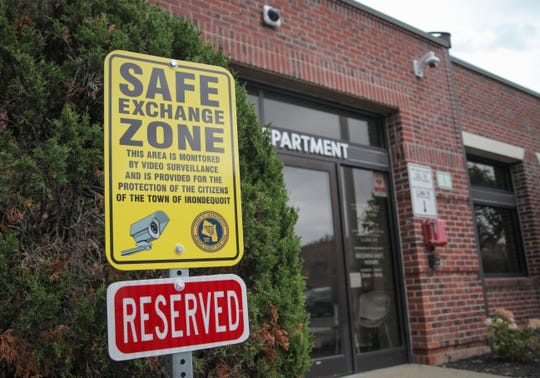 Irondequoit has set up a secure area near its Public Safety Building where people can park and complete Craigslist or other online sales transactions.