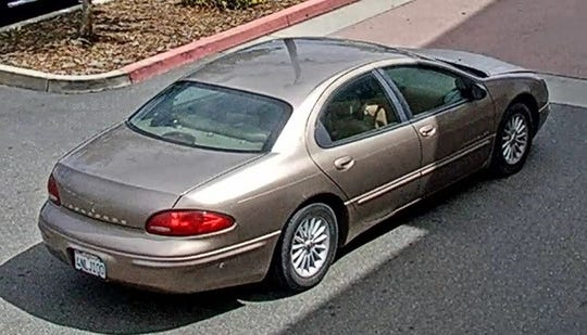 This is the vehicle authorities believe the two women were in. It's a 2000 Chrysler Concorde.