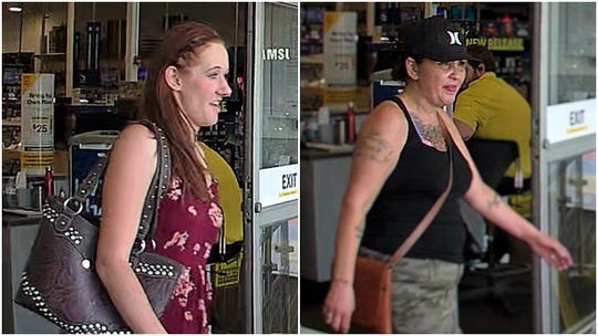 Whiskeytown National Recreation Area is asking for the public's help in identifying two female suspects in connection to two separate thefts that officials say occurred in July 2019 at Whiskeytown