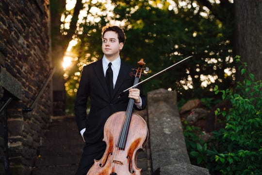 Cellist John-Henry Crawford