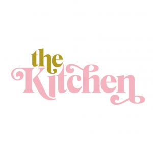 A logo for The Kitchen
