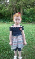 Vivian, 3, from Mountain Grove was reported missing Tuesday night.
