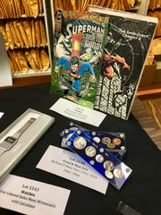 Comic books and coins set to be on offer at the State Treasurer's annual unclaimed property auction in Springfield Sept. 10-11.