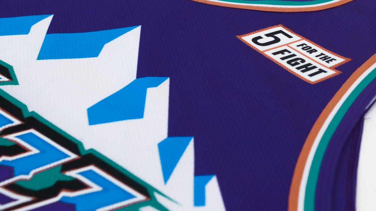 size 40 7605f d9e61 Utah Jazz uniform reveal displays throwback mountain jerseys