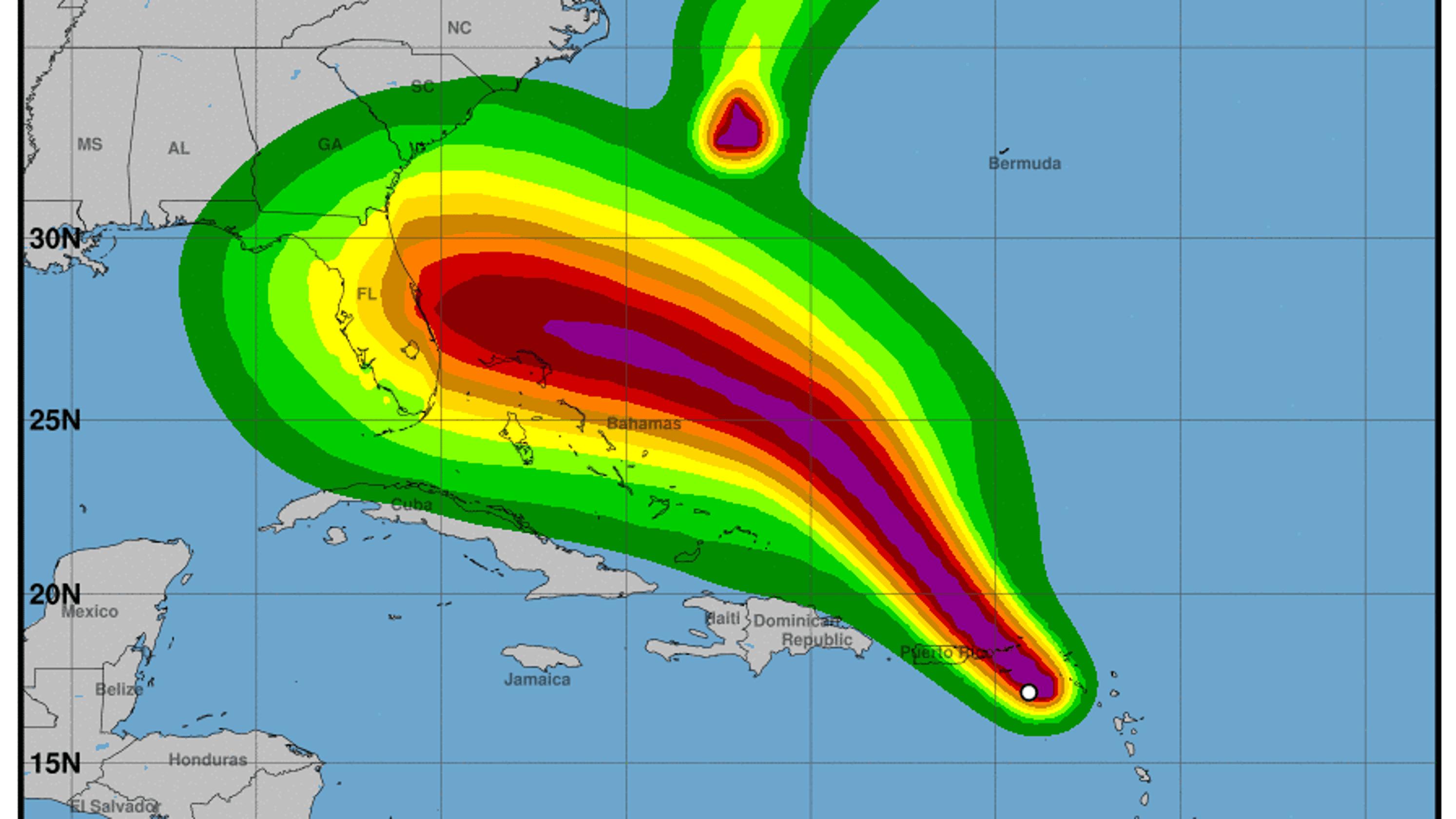 Will Hurricane Dorian strike Alabama? 'Too soon' to say, NWS