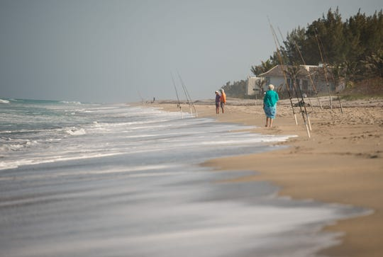 Watch for wildlife, learn about natural items washed ashore and pick up litter along the way during the Beach Dynamics Program with naturalist Kim Mohlenhoff at the Hobe Sound Nature Center.