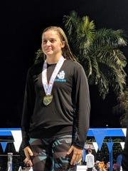 Jensen Beach's Blair Stoneberg won a state title as a freshman.