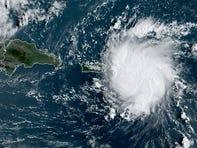 Tropical Storm Dorian 8 a.m. Aug. 28, 2019